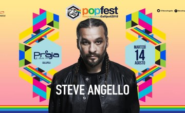 Steve Angello al PopFest di Gallipoli