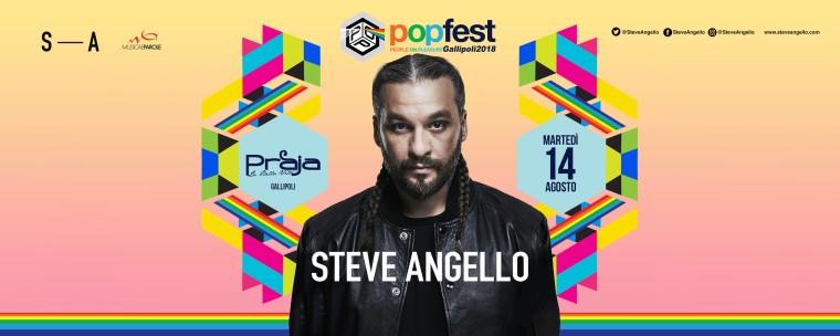 Steve Angello al PopFest di Gallipoli