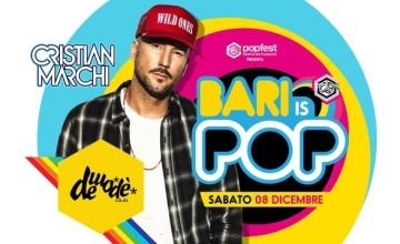 Bari is Pop! Cristian Marchi colora il Popfest