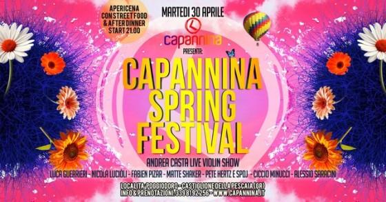 Luca Guerrieri alla terza edizione del Capannina Spring Festival