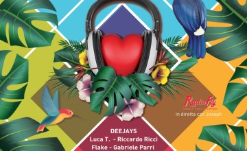 Deejay's for Children la quarta edizione nel carnevale estivo di Foiano della Chiana (AR)