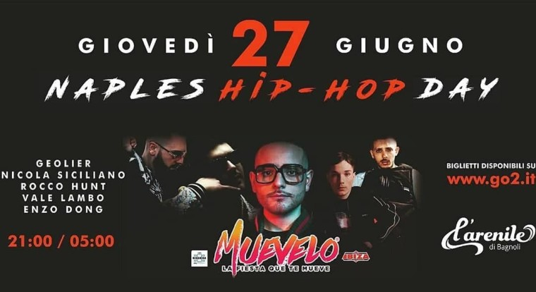 Naples Hip Hop Day il primo evento napoletano dedicato alla trap
