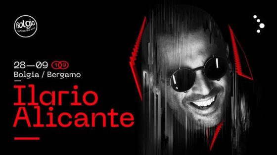 Ilario Alicante sabato 28 settembre al Bolgia di Bergamo